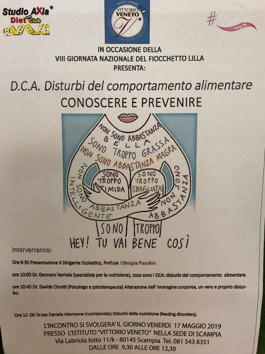 """17/5/2019 - Convegno """"D.C.A. disturbi del com..."""