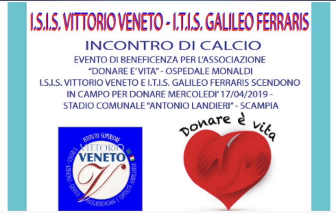 17 aprile 2019 - DONARE E' VITA - Sfida benefic...