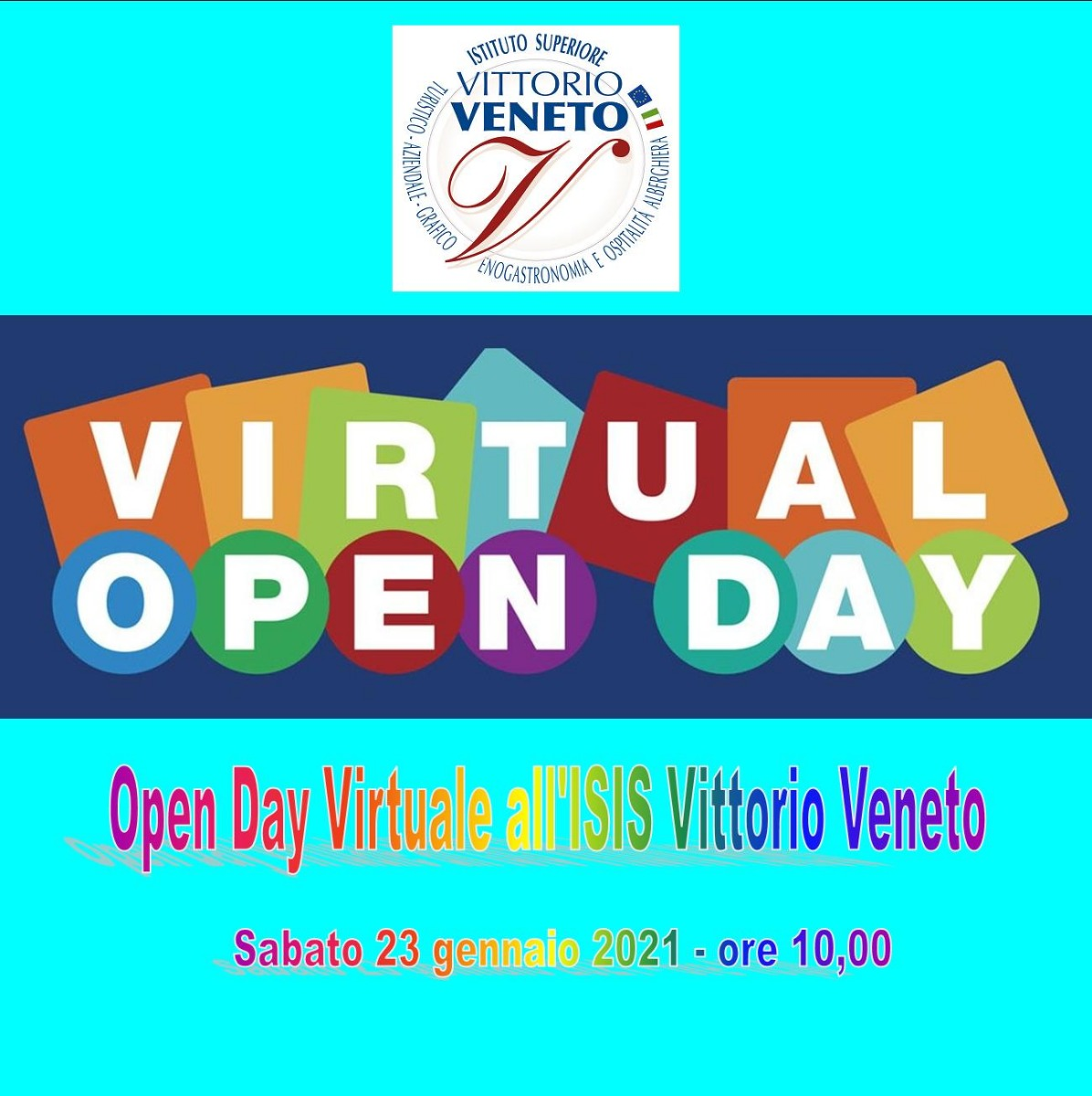 OPEN DAY VIRTUALE all'ISIS VITTORIO VENETO