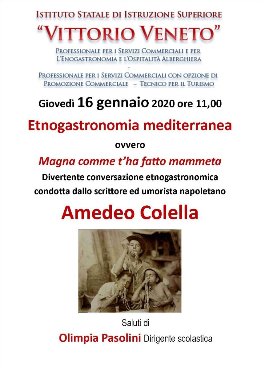 Incontro con Amedeo Colella