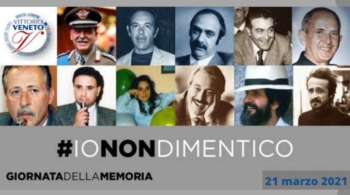 21 marzo 2021 Commemorazione delle vittime dell...